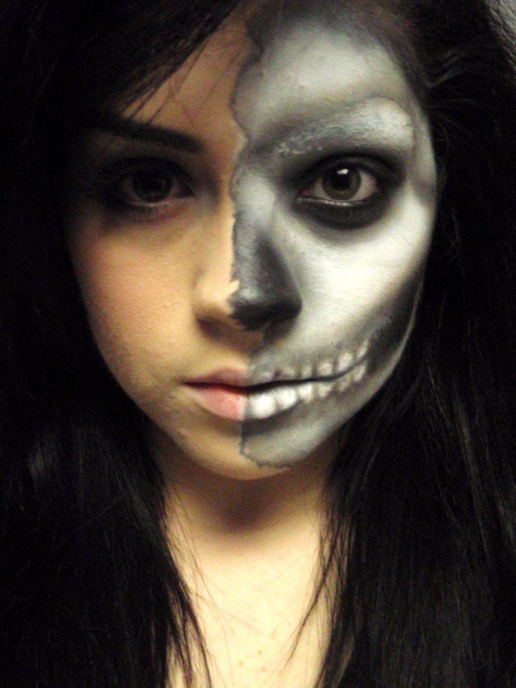 Best 20+ Grim Reaper Makeup Ideas On Pinterest
