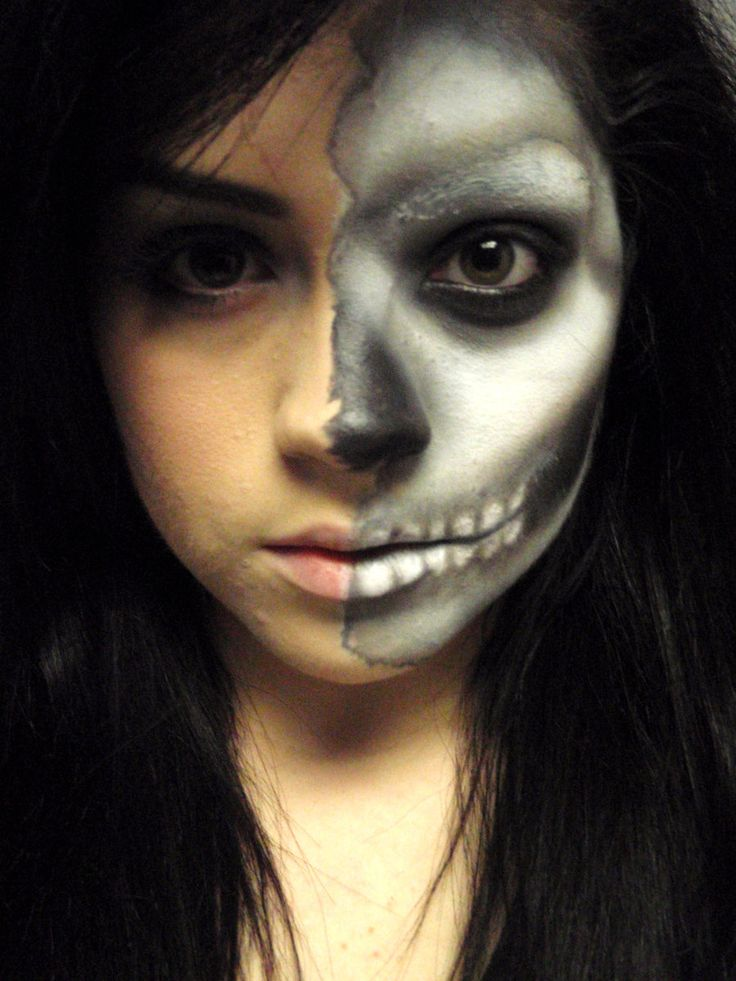 awesome face paint Costume makeup Pinterest - Awesome Halloween Makeup