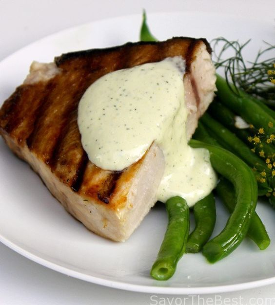 Grilled-Swordfish-Steak-with-Lemon-Dill-Aioli-Sauce-3