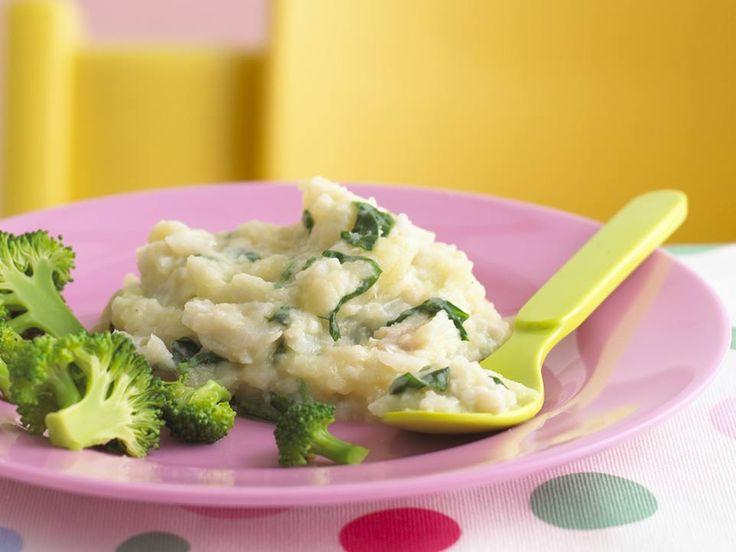 Cod Spinach Puree Baby RecipesBaby Food