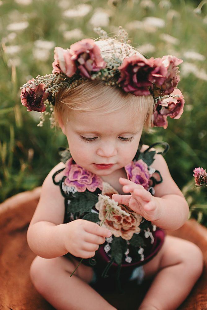 Интересное фото о цветах детям