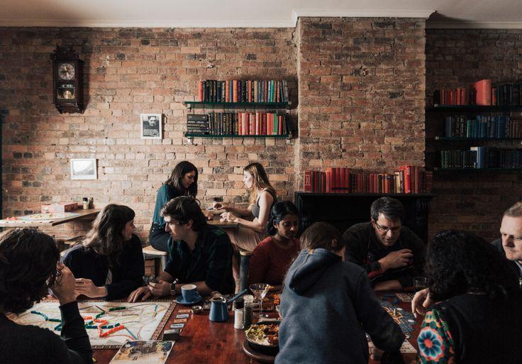 Board game bar Fitzroy