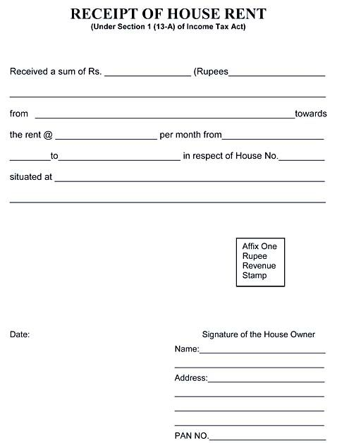 Free Rent Receipt Template And What Information To Include The Rent Receipt Or Rental Invoice Refers To A Formal Docum Receipt Template Word Template Words