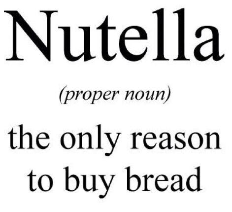 ~nutella quotes~