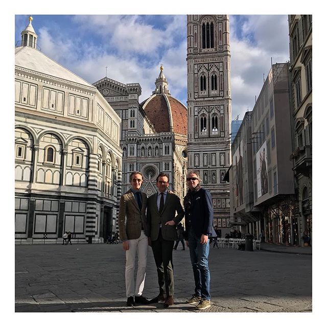 Florence see you again at next Pitti in june #pitti #pitti93 #pittiuomo #menswear #menstyle #ilduomo