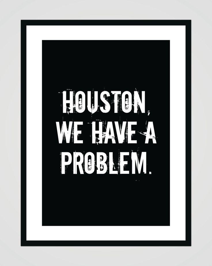 Houston we have a problem - Apollo 13 - digital printable
