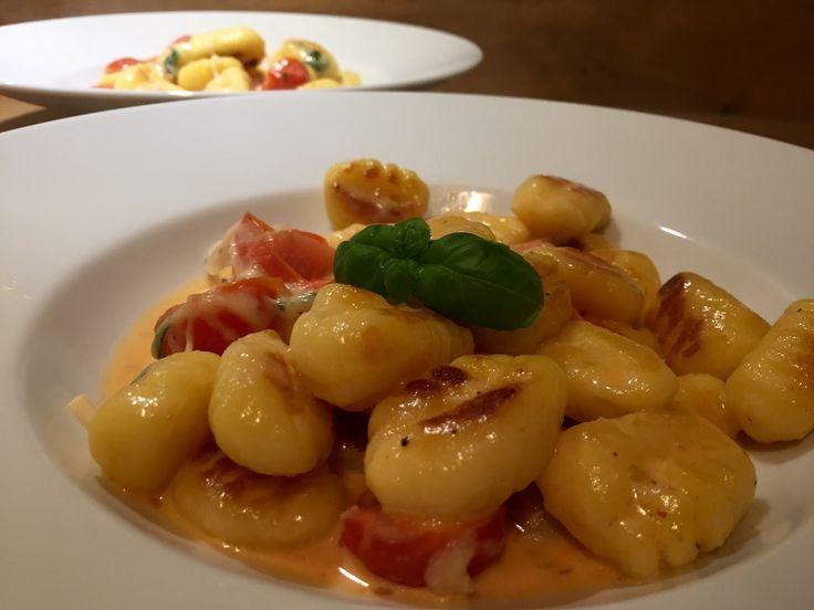 Gnocchi mit Tomaten und Mozzarella 3