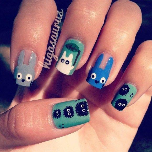Cute Animals + Nail Art = 8 Adorable Examples Of Animal Nails
