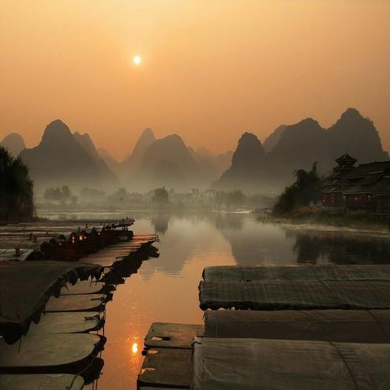 Karst Hills, China