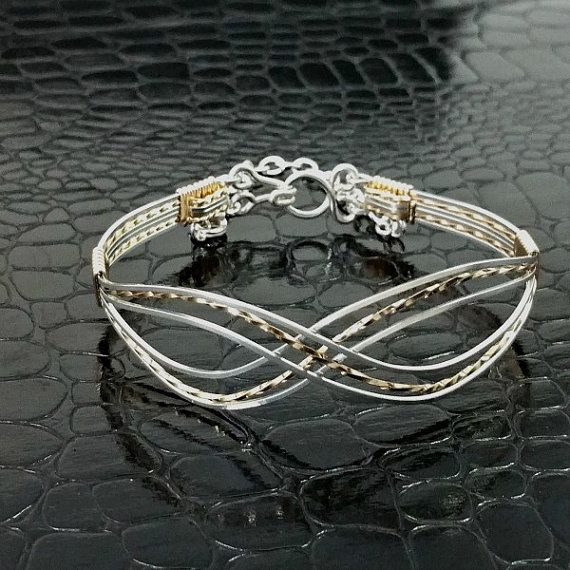 Hey, I found this really awesome Etsy listing at https://www.etsy.com/listing/252529538/infinity-wire-wrapped-bracelet
