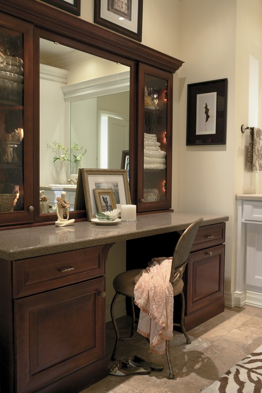 20 best images about bathrooms bedrooms and dressing - Beautiful bathroom vanity furniture ...