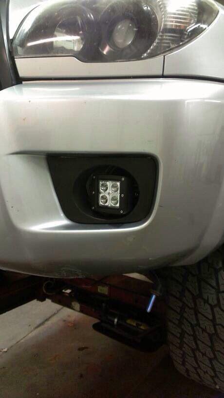 Spot dually in the OEM fog light location on a 4th gen Toyota 4Runner!