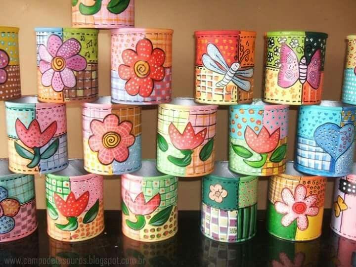 Bolsa De Mão Baú Nescau   Niege : Melhores imagens de latas decoradas no lata