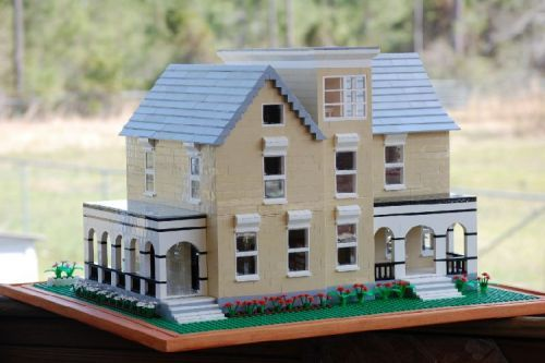 Italian Villa: A LEGO® creation by Rita Stallings : MOCpages.com