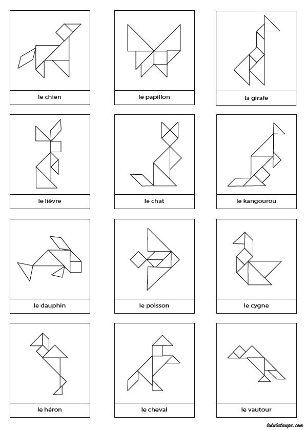 22 best école - tangram images on Pinterest Mathematics, Calculus