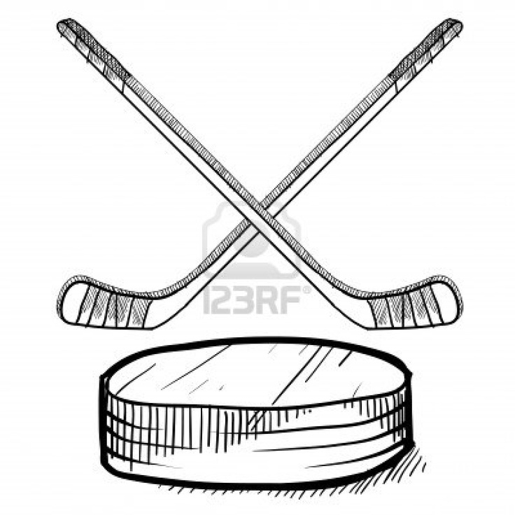 floor hockey coloring pages - photo#12
