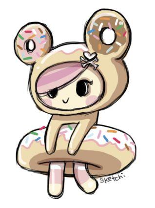donutella tokidoki by on deviantart fandoms pinterest artists art