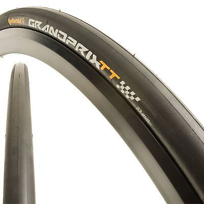 Tires 177828: Continental Grand Prix Tt 700 X 23C Folding Road Bike Tire Black -> BUY IT NOW ONLY: $60 on eBay!