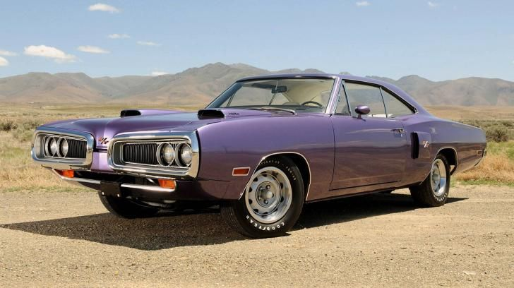 Widescreen Vintage Cars Classic Car Dodge Coronet R T 426