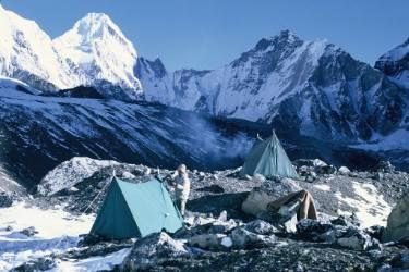 "Saatchi Art Artist Candida Slater; Photography, ""Mount Everest Base Camp, 1969."" #art"