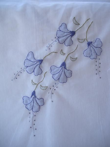 <b>Shadow embroidery</b> - IndusLadies