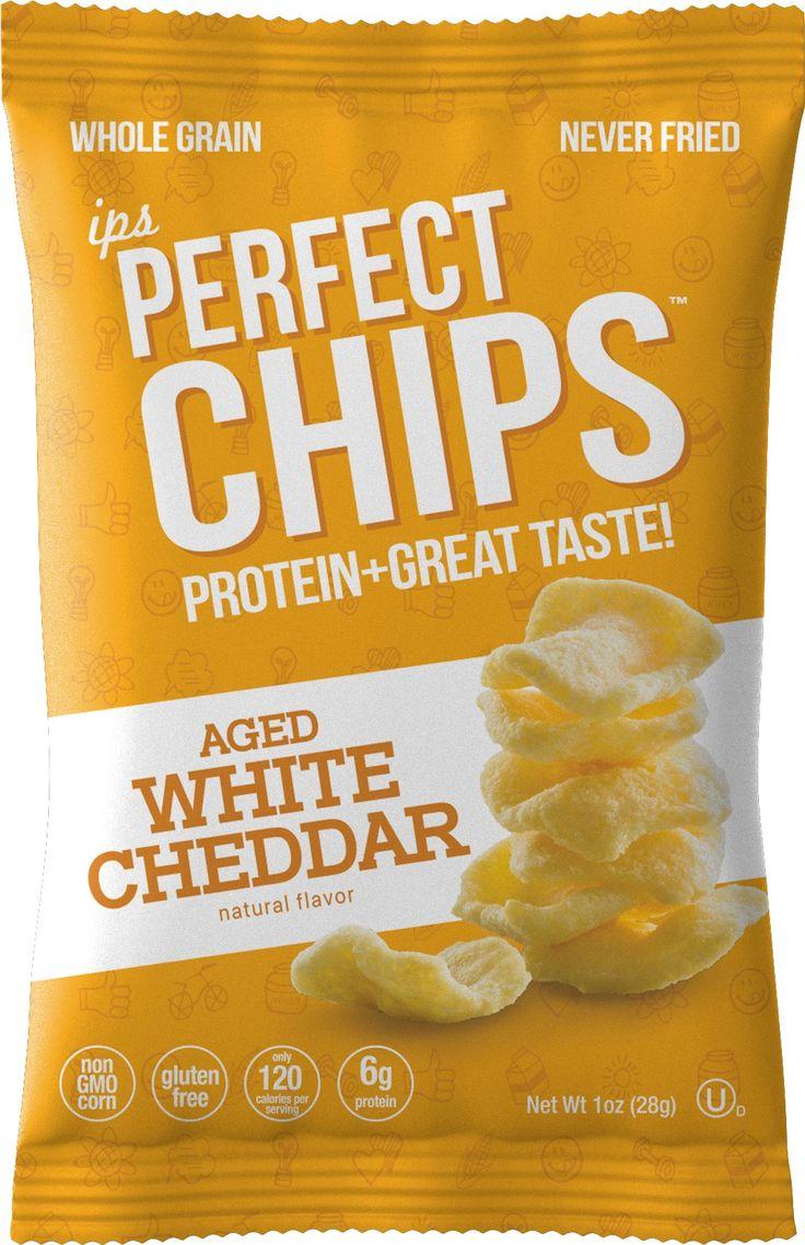 Ips White Cheddar Protein Chips Nutritious Low Calorie No Gluten Kosher Non Gmo Snacks Healthy Crisps For Kids Healthy Crisps Protein Chips Healthy Diet Snacks