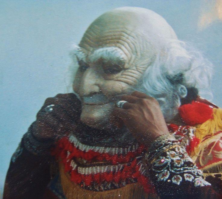 Pak Djimat Topeng karet Bali 1978