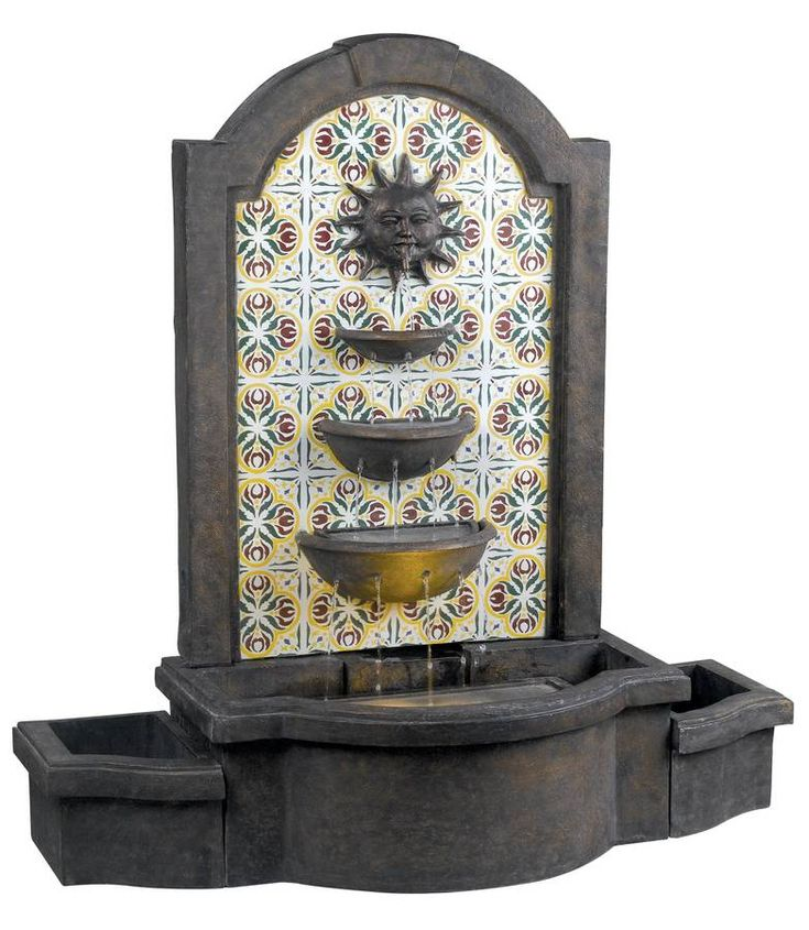 26 best fountains mexican images on pinterest haciendas for Mexican style outdoor fountains