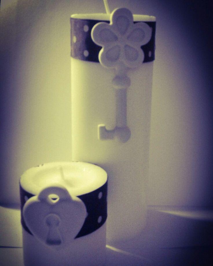 Candele decorate! Bomboniere Segnaposto Matrimonio