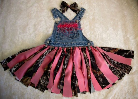 Camo Bib Tutu Set @ my Etsy Shop