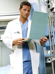 I love Grey's Anatomy and I especially LOVE Justin Chambers!