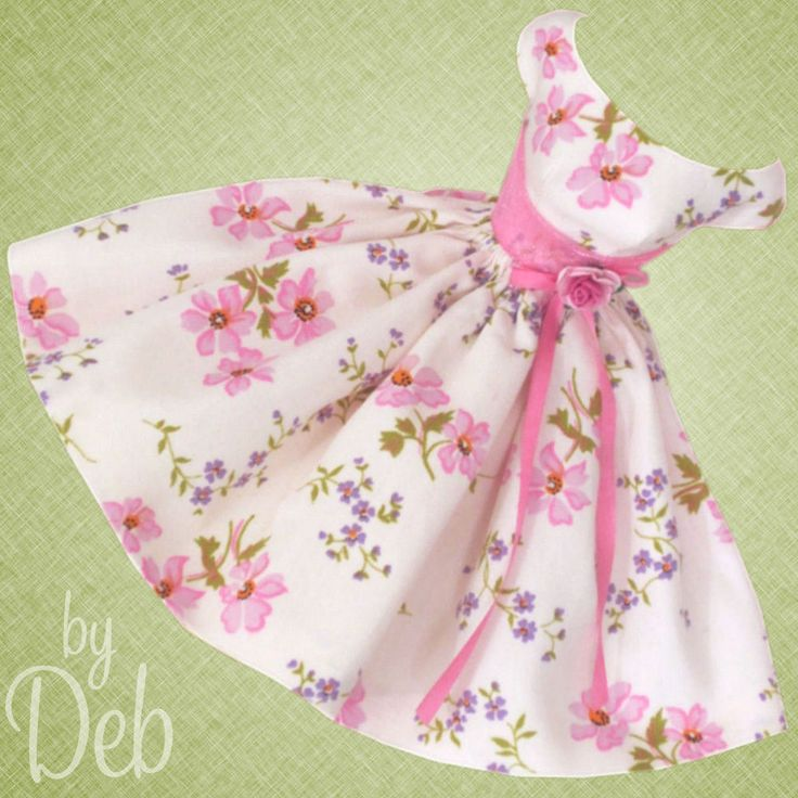 So Sweet - Vintage Barbie Doll Dress Reproduction Repro Barbie Clothes