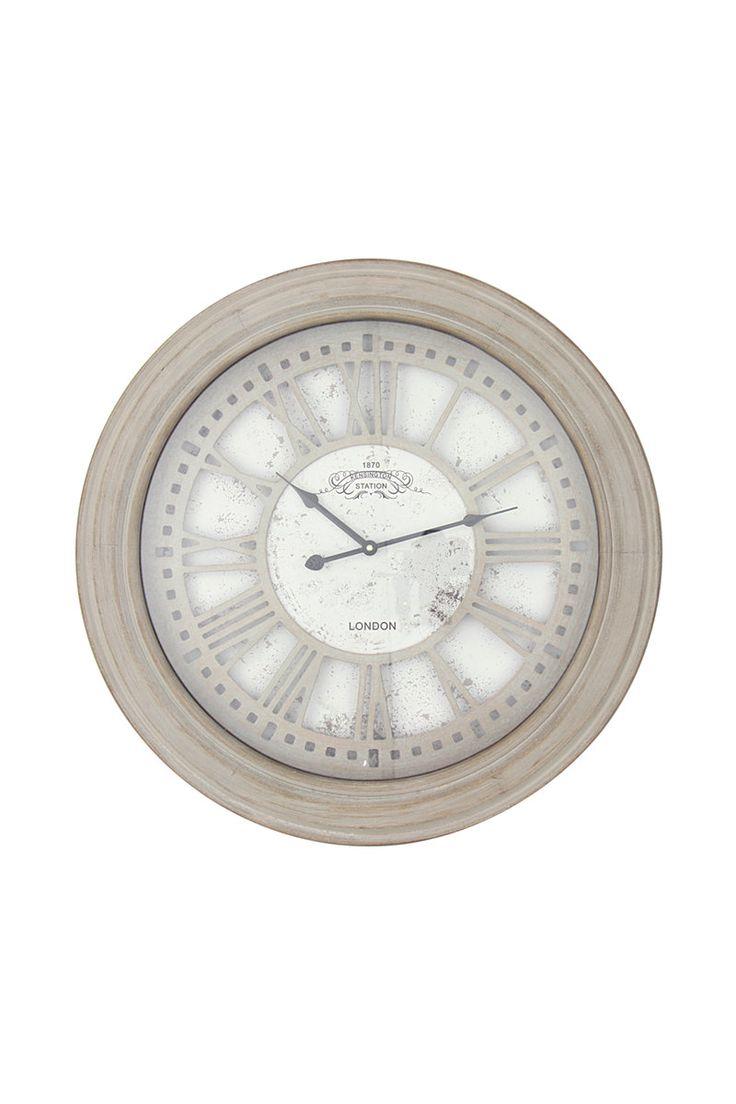 Grand Wood Kensington Clock  Mrphome Online Shopping