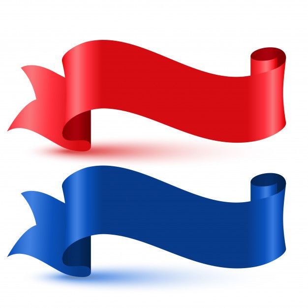 Download Red And Blue 3d Flag Ribbon For Free Red And Blue Red Blue