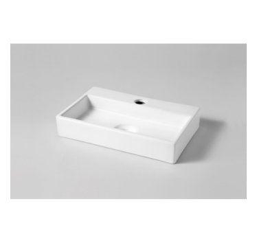 PLANETEBAIN - Lave mains rectangle contemporain blanc 24X38,5cm - 161020 - Lave-mains à poser - Outiz