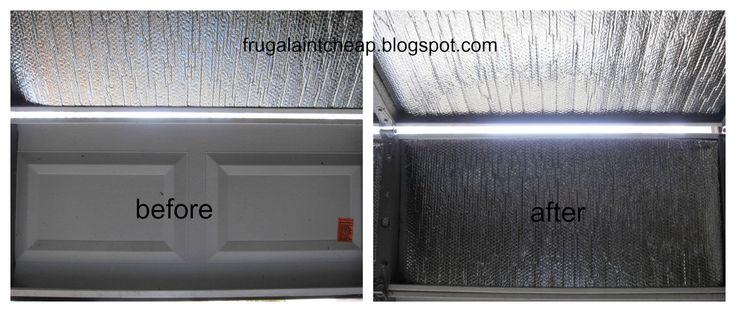 Frugal Ain't Cheap: Insulate your Garage Door