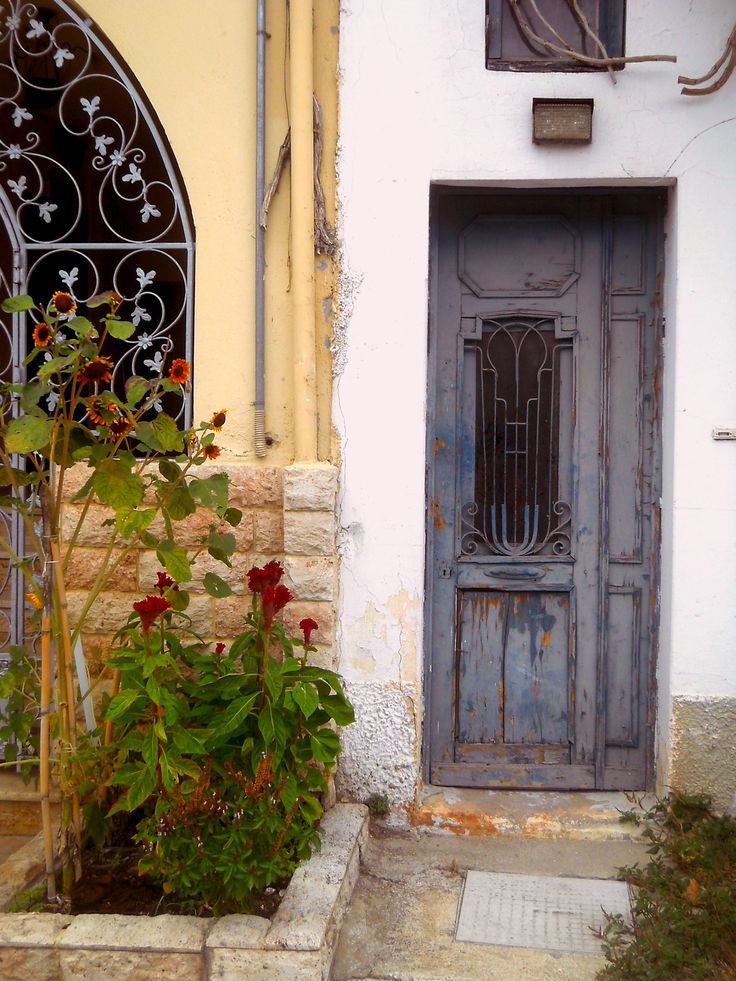 An old house in Sarti, Greece.