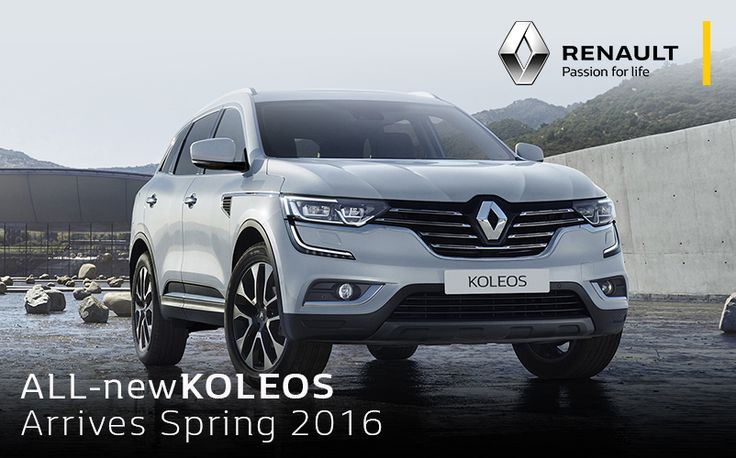 The all new Renault Koleos coming soon this Spring. #Renault #Koleos #2016 http://www.villagerenault.com.au/renault/