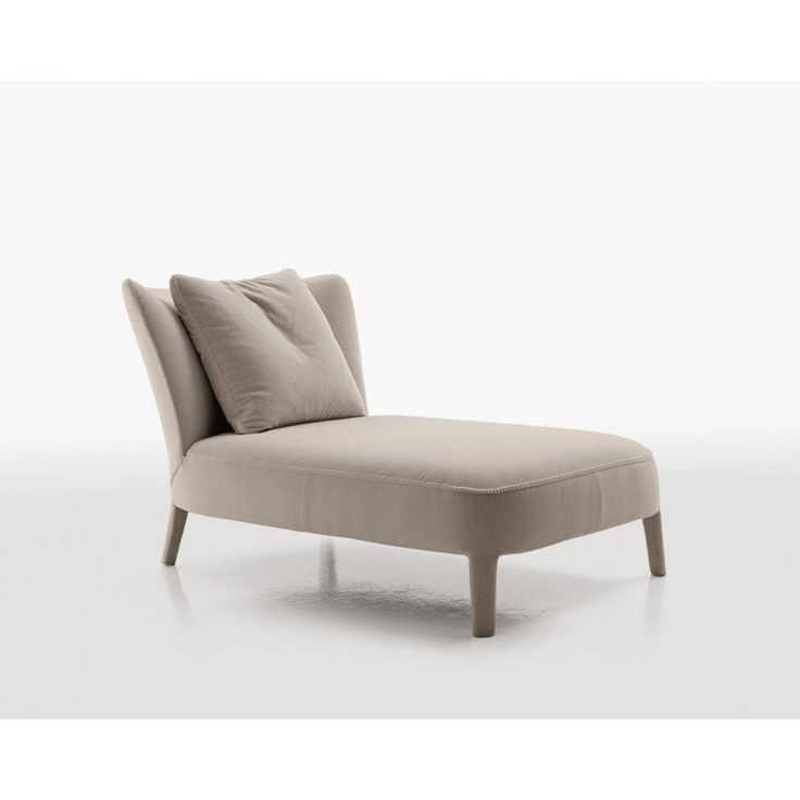 Febo chaise longue with backrest pillow