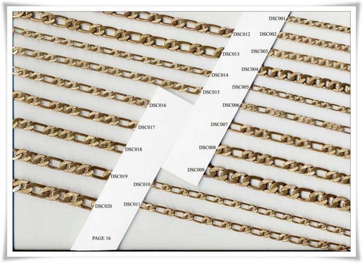 brass chain 16