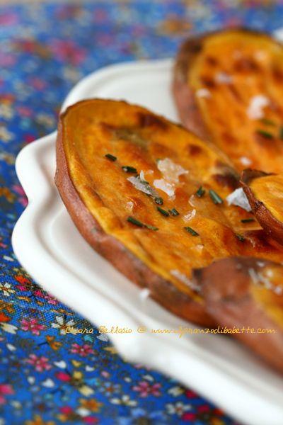Patate dolci al forno | ilpranzodibabette