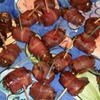 Devils on Horseback  They are a wonderful balance between salty and sweet, with a combination of crispy, chewy, and crunchy textures.