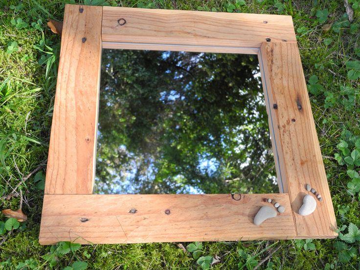 Spiegel Aus Palettenholz Von Altholzdesign Seoane Auf DaWanda.com