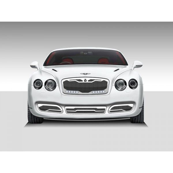 DJ Grilles 91003 | 2009 Bentley Continental Chrome Macaro Grilles for