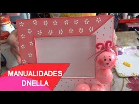Manualidades porta retrato de trupan by tallerdnella - Como se hace manualidades ...