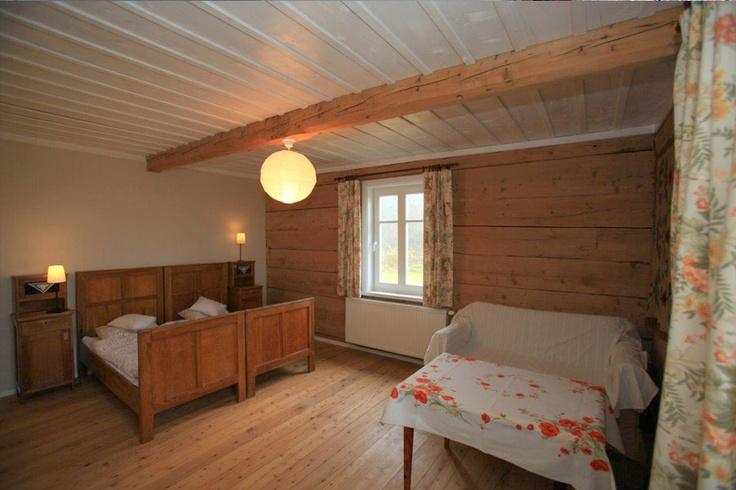 Dom na Łąkach, Wooden room