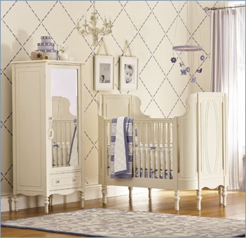 romantic neutral nursery