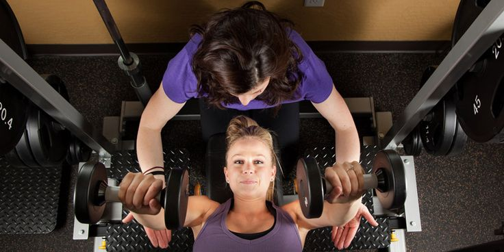 free weight workout for women
