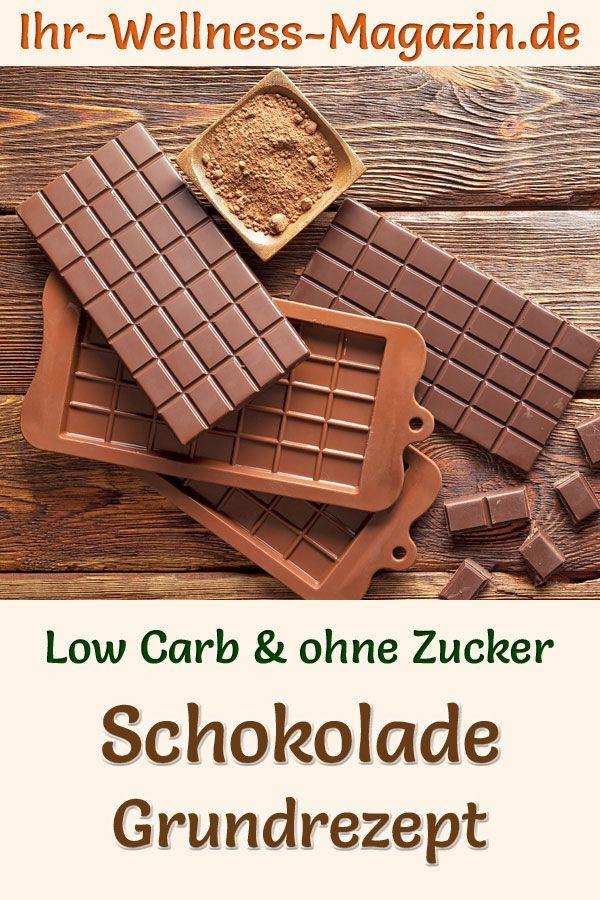 Schokolade Selber Machen Gesundes Low Carb Grundrezept Ohne Zucker Schokolade Ohne Zucker Zuckerfreie Schokolade Zuckerfreie Nachtische