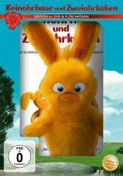 Keinohrhase und Zweiohrküken, 1 DVD + Plüschküken (Oster-Plüsch-Edition)